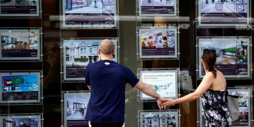 Property ladder agents window
